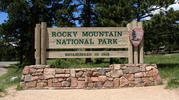 Rocky Mountain National Parks in fall