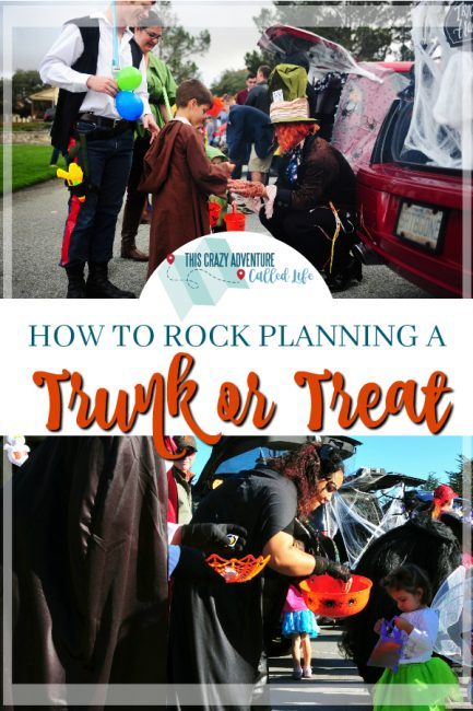 HOW TO PLAN AND ORGANIZE A TRUNK OR TREAT