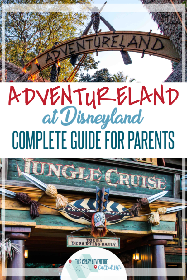 Before heading to Disneyland with Kids, check out our parental guide to Adventureland. Insider tips, info on rides and food, plus so much more. Who knew California's Disney Resort had so much to offer in just one land! #ThisCrazyAdventureCalledLife #Disneyland #DisneylandwithKids #DisneyTips #vacation #VisitCalifornia