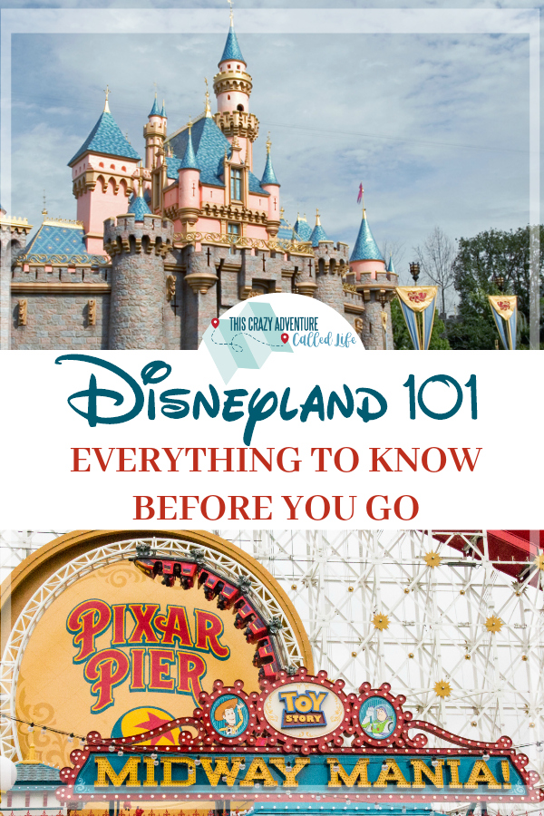 Heading to Disneyland? This is the complete guide to everything you need to know. Parking, security checks, and even how to combine Fastpass and Rider Switch Pass. #Disneyland #Disney #California #ThisCrazyAdventureCalledLife #vacation #familytravel