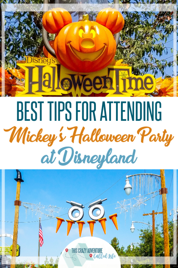 Best tips for Mickey's Halloween party at Disneyland. How to get all the candy, do all the rides and more. Make the most of your Disney vacation this fall and enjoy the California sun and some spooky good treats. Costumes encouraged! #ThisCrazyAdventureCalledLife #vacation #Disneyland #Halloween #Disney #HalloweenParty #TravelwithKids #DisneylandwithKids