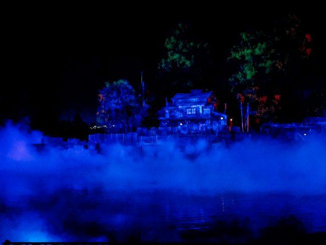 Disneyland Mickey's Halloween Party Tom Sawyers Island