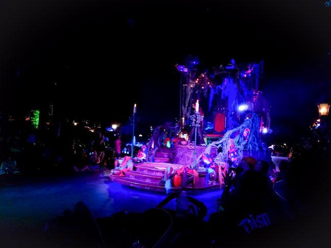 Disneyland Halloween Party Parade Float