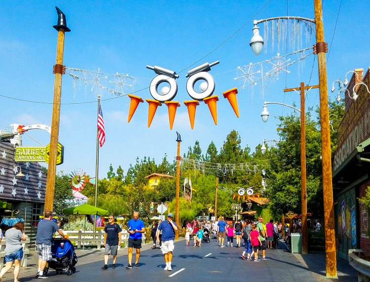 Cars Land at Halloween or Haul-o-ween