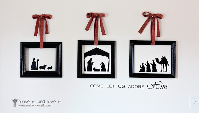 Vinyl Christmas Decor | 26 Inspiring and Easy Christmas DIYs | This Crazy Adventure Called Life