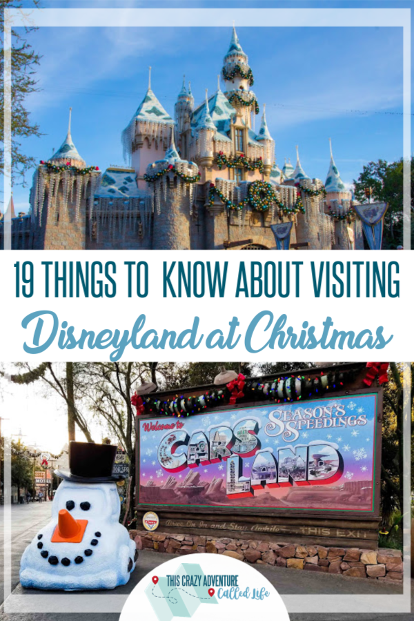 Planning a trip to Disneyland for Christmas or to celebrate the holidays in general? We have insider tips and answers to your questions. Going with kids? Going on a budget? Where to get the best pictures? Wondering what you can't miss? We have all the best tips from photos to food and more. #Disneyland #HolidaysatDisneyland #DisneylandwithKids #ThisCrazyAdventureCalledLife