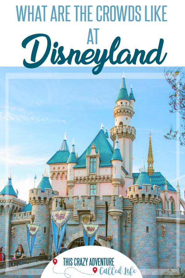 When Are Disneyland Crowds Lightest? Insider tips on choosing the best time to travel to Disneyland for your vacation. Whether going to Disneyland with kids, babies, teens, or kid free, you will want to know all the insider tips about choosing the least crowded times. All the info, including if California school vacations affect crowd levels. #ThisCrazyAdventureCalledLife #Disneyland #DisneylandwithKids
