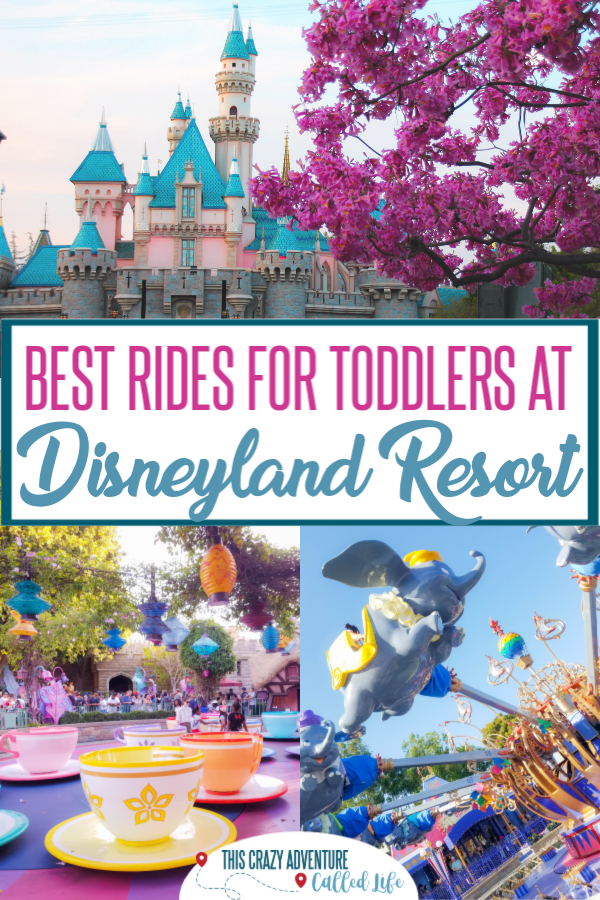 Planning Disneyland with toddlers can be a bit overwhelming. Here is insider tips and knowledge about the best rides for toddlers at Disneyland. Even a few hacks on skipping the lines. There are plenty of things to do with young children at the parks. #DisneylandwithKids #Disneyland #TravelwithKids #ThisCrazyAdventureCalledLife