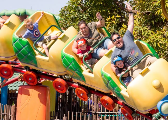 Disneyland rides for toddlers include Gadget's Go Coaster