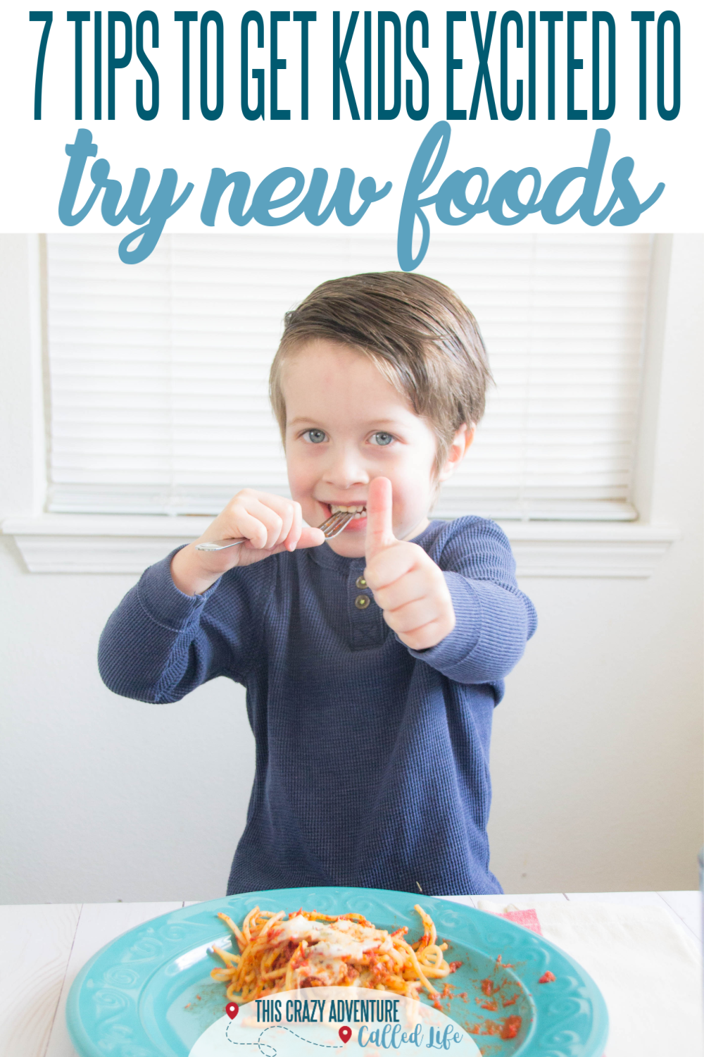 Check out our parenting tips for getting kids to try new foods. Break out of your cooking rut and find ways to get kids eating more than traditional kid friendly food. These tips are genius and will change your meal time and help you vary your meal planning. Great tips for toddlers, preschoolers and beyond. (AD) #Food #ThisCrazyAdventureCalledLife #Parenting
