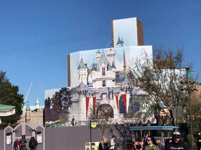 Sleeping Beauty Castle refurbishment spring 2019