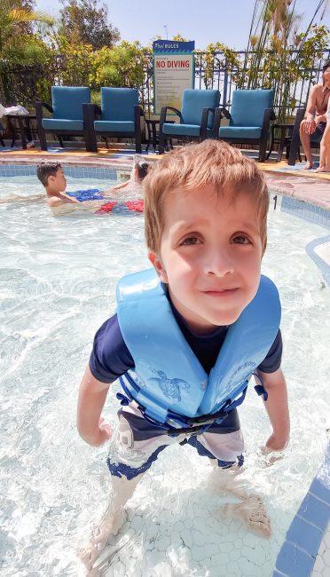 Paradise Pier Hotel Wading Pool