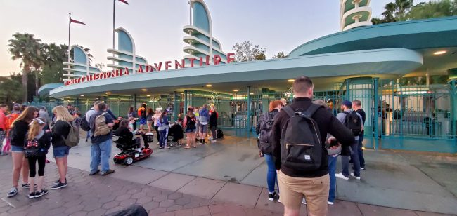 Disney California Adventure pre-opening