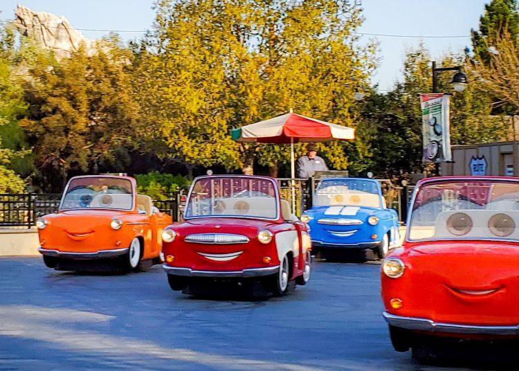 Cars at Disneyland