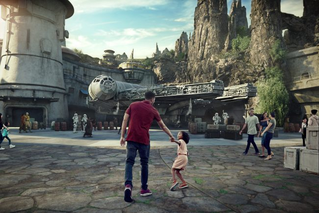 Artist rendering of Star Wars Land