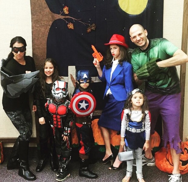 Avengers Family Costumes to Assemble - Lola Lambchops