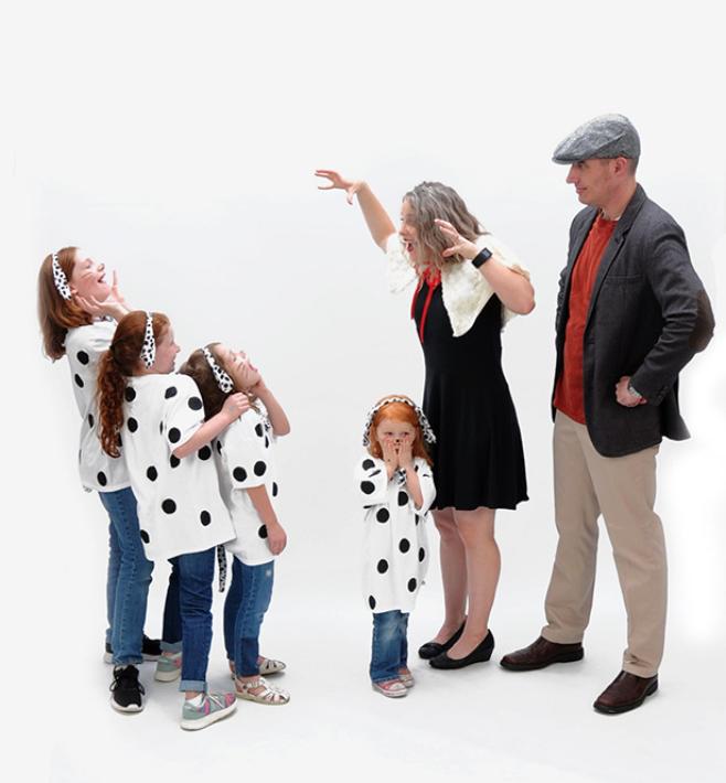 101 Dalmatians Costume Theme