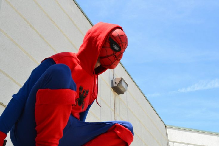 Thrifted Spider-Man: Homecoming Inspired Costume