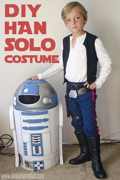 Odds are you will love this Han Solo Costume DIY (but don't tell us)