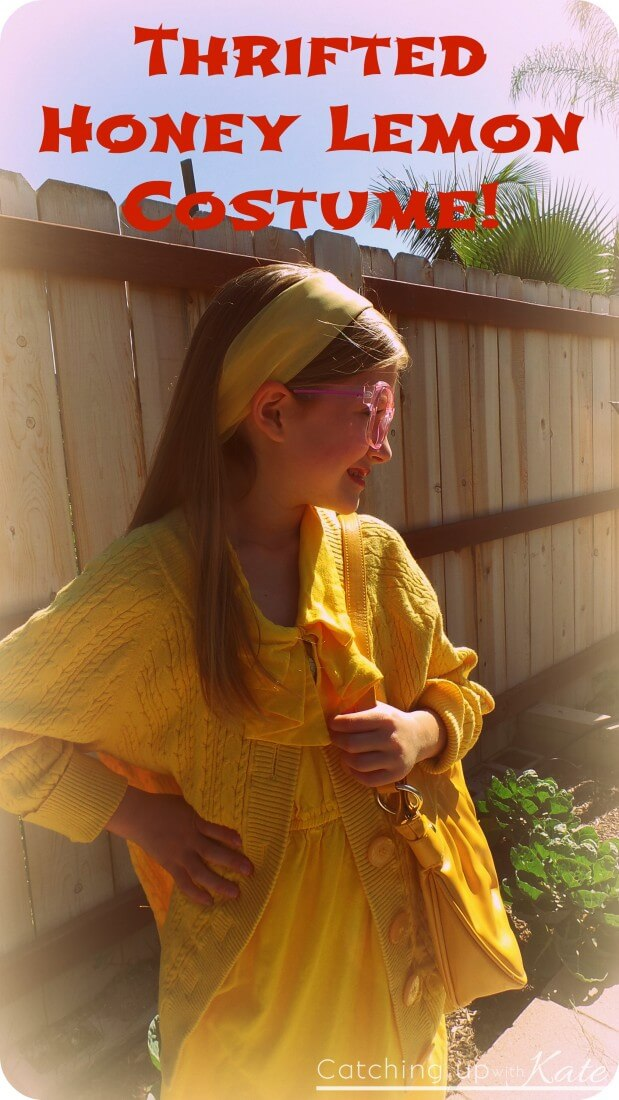 Thrifted Honey Lemon Costume - DIY