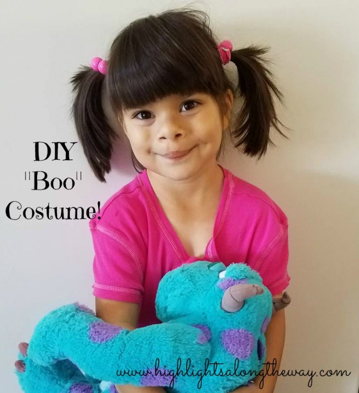 Boo costume. Easy DIY No Sew Boo Costume for this Halloween