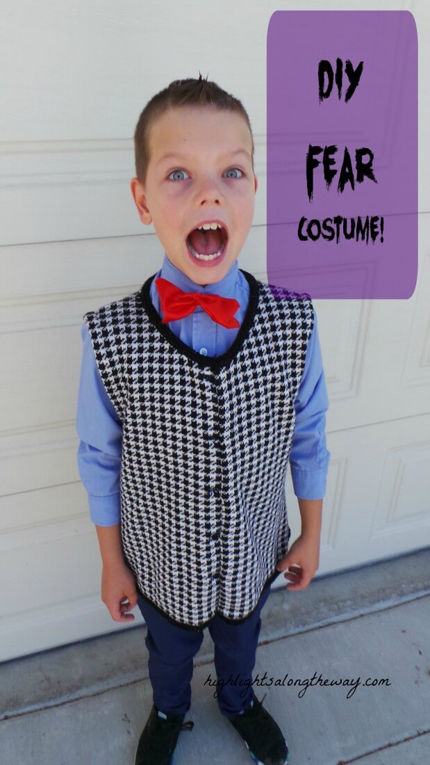 DIY Fear Costume