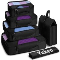 Veken 6 Set Packing Cubes