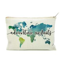 Adventure Awaits Cosmetic Bag
