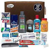 Men's Premium 20 Count Necessities Travel Kit