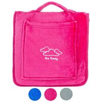 Soft Fleece Compact Travel Blanket