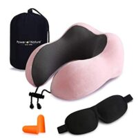 Memory Foam Neck & Head Support Pillow