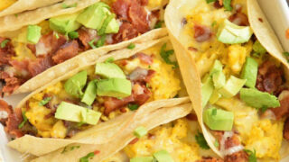 Baked Breakfast Tacos
