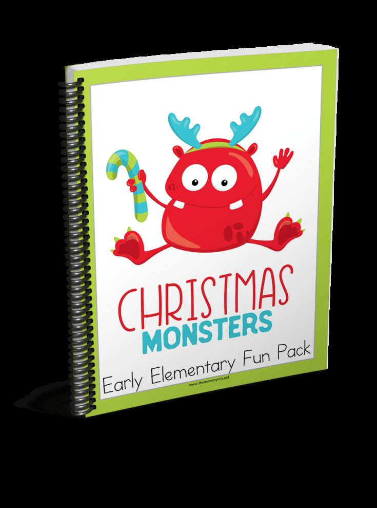 Christmas Monsters Activity Pack
