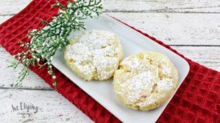 Eggnog Butter Cookies