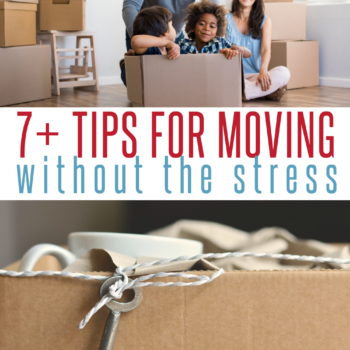 moving tips pinterest image with previous images and text