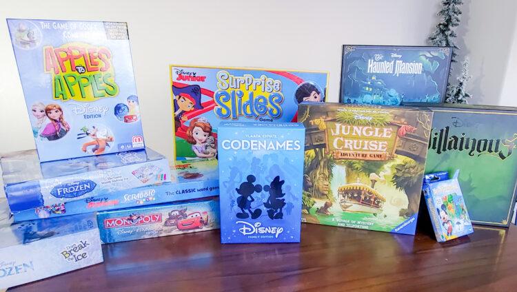 Large pile of Disney Board Games